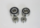 Double Raw Angular Contact Ball Bearing